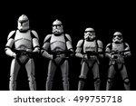 evolution concept of star wars... | Shutterstock . vector #499755718