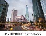 taipei  taiwan   october 15  a... | Shutterstock . vector #499756090