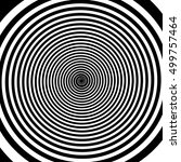 Hypnotic Spiral Illustration