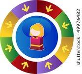 child   Shutterstock .eps vector #49976482