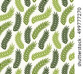 seamless ornament pattern.... | Shutterstock .eps vector #499777270