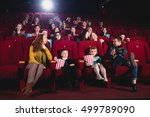 session at the cinema | Shutterstock . vector #499789090