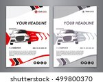 a5  a4 service car business... | Shutterstock .eps vector #499800370