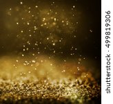 glitter glittering background... | Shutterstock . vector #499819306