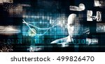 technology services on world... | Shutterstock . vector #499826470