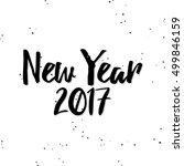 happy new year | Shutterstock .eps vector #499846159