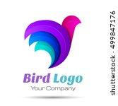 Bird Abstract Volume Logo...