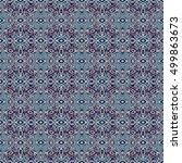 abstract geometric seamless... | Shutterstock . vector #499863673