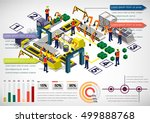 illustration of info graphic... | Shutterstock .eps vector #499888768