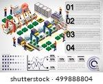 illustration of info graphic... | Shutterstock .eps vector #499888804