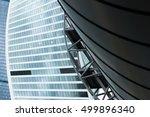 moscow international business... | Shutterstock . vector #499896340
