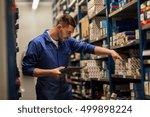 car service  repair ... | Shutterstock . vector #499898224