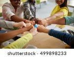 education  school  teamwork and ... | Shutterstock . vector #499898233