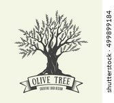 hand drawn graphic logo with... | Shutterstock .eps vector #499899184