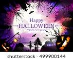 halloween.  | Shutterstock .eps vector #499900144