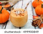 Autumn Pumpkin Smoothie With...