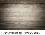 rustic wood board background... | Shutterstock . vector #499901563