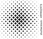black and white abstract... | Shutterstock .eps vector #499902973