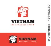 vector cute vietnam food... | Shutterstock .eps vector #499903180