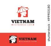 vector cute vietnam food... | Shutterstock .eps vector #499903180