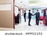 indian business executive... | Shutterstock . vector #499921153