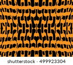 abstract seamless black yellow... | Shutterstock .eps vector #499923304