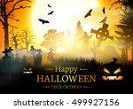 halloween.    Shutterstock .eps vector #499927156