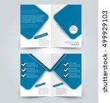 abstract flyer design...   Shutterstock .eps vector #499929103