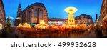 christmas market in heidelberg  ... | Shutterstock . vector #499932628
