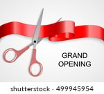 grand opening cards with... | Shutterstock .eps vector #499945954