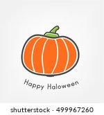 pumpkin | Shutterstock .eps vector #499967260