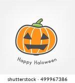 pumpkin | Shutterstock .eps vector #499967386