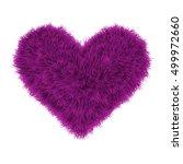 Valentine Fur Pink Heart ...