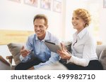 group of businesspeople working ... | Shutterstock . vector #499982710