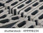 concrete block for construction ... | Shutterstock . vector #499998154