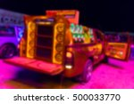 blurred colorful lights of... | Shutterstock . vector #500033770
