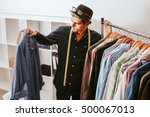 personal shopper in the fashion ... | Shutterstock . vector #500067013