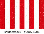 red and white striped curtain... | Shutterstock .eps vector #500076688