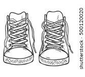 vector sketch illustration  ... | Shutterstock .eps vector #500120020
