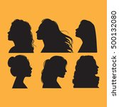 vector collection of  female... | Shutterstock .eps vector #500132080