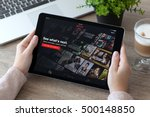 alushta  russia   october 9 ... | Shutterstock . vector #500148850