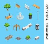 Landscaping Isometric Elements...