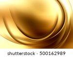 gold glowing modern art.... | Shutterstock . vector #500162989