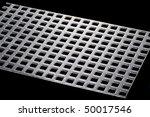 object on black   tool steel... | Shutterstock . vector #50017546
