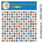 universal website icon set...   Shutterstock .eps vector #500178673