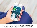 riga  latvia   september 8 ... | Shutterstock . vector #500187130