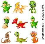 illustration of  set of... | Shutterstock . vector #500201296
