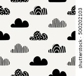 seamless repeating pattern with ... | Shutterstock .eps vector #500202103