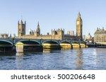 big ben  houses of parliament ...   Shutterstock . vector #500206648