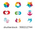 adoption and community care... | Shutterstock .eps vector #500212744